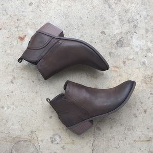 G by Guess Faux Leather Booties